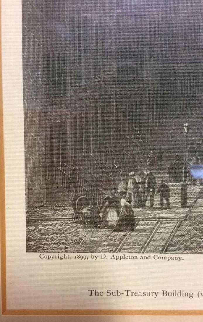 Art Print Wall Street in 1850 - 4