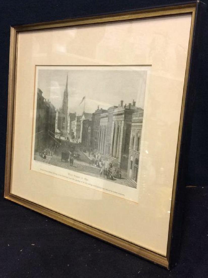 Art Print Wall Street in 1850 - 7