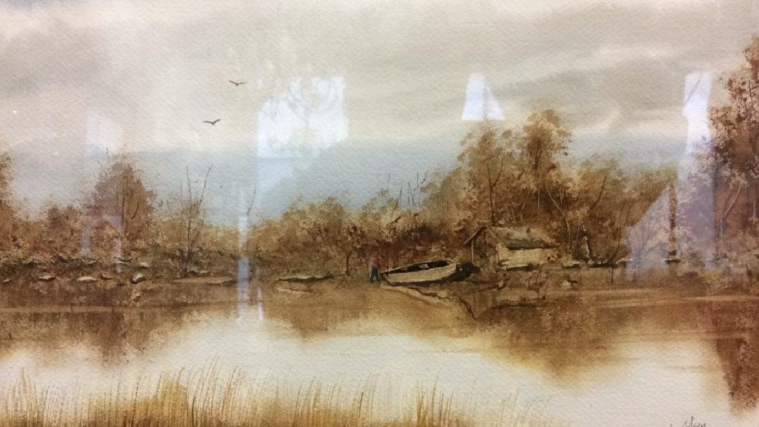 Scenic Artwork L. Olsen - 2