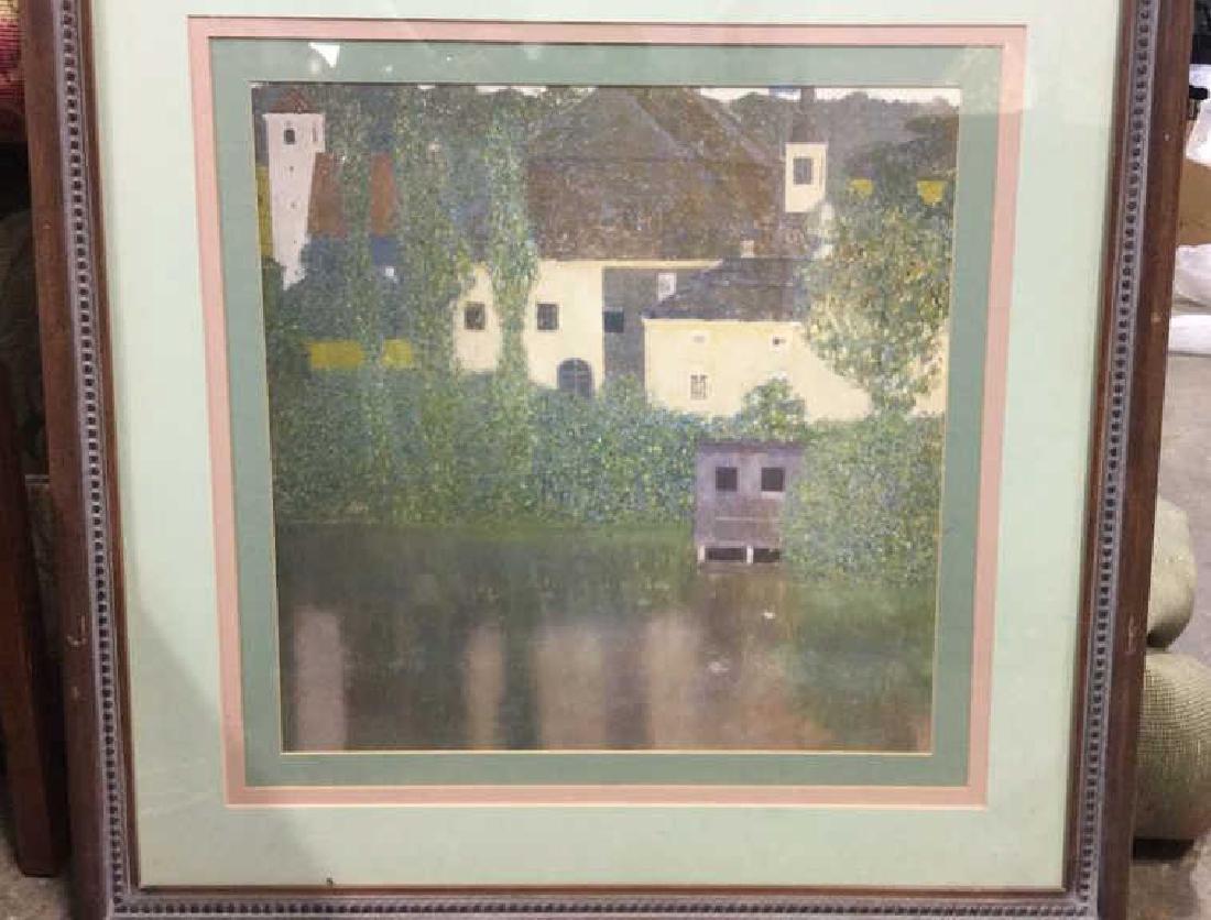 Framed Klimt Art Print Castle - 3