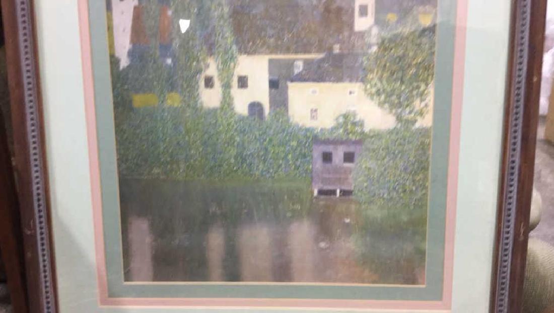 Framed Klimt Art Print Castle - 4