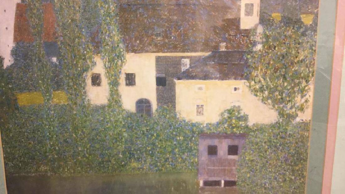 Framed Klimt Art Print Castle - 6