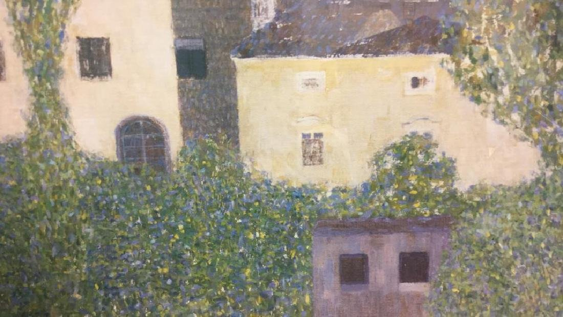 Framed Klimt Art Print Castle - 7