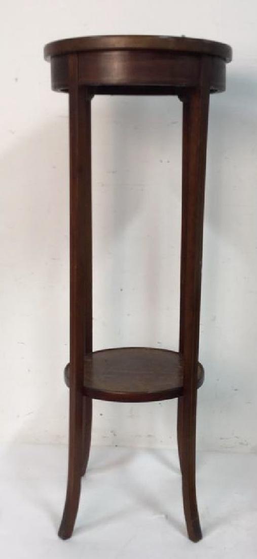 Vintage Mahogany Pedestal Stand