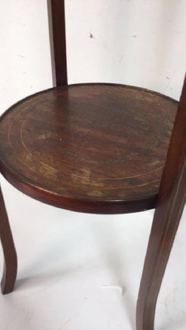 Vintage Mahogany Pedestal Stand - 4