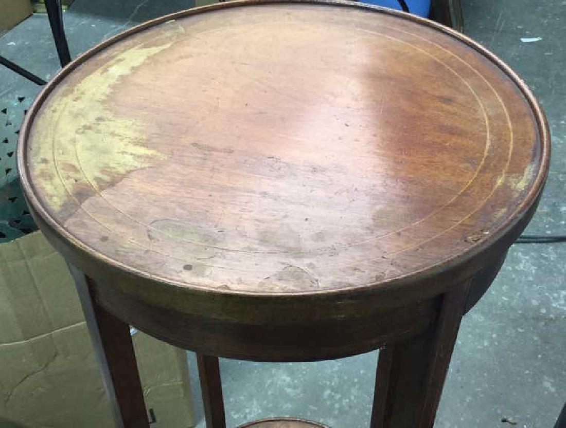 Vintage Mahogany Pedestal Stand - 5