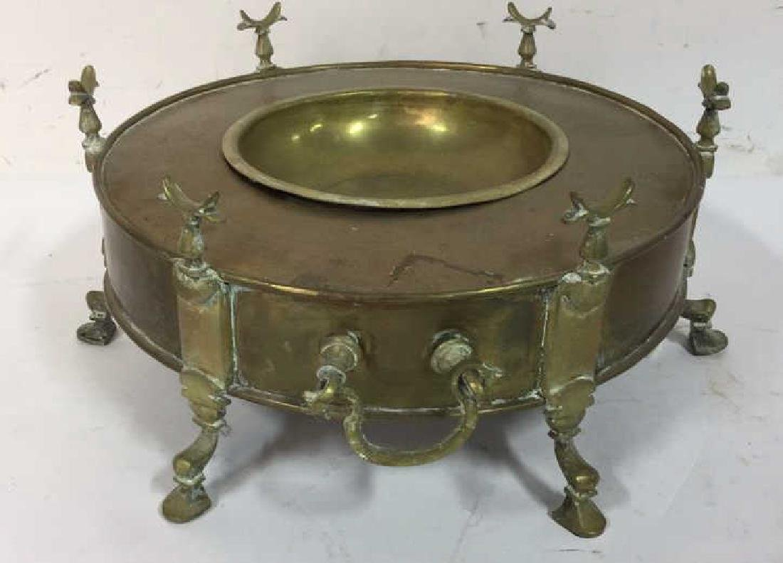 Vintage Brass Hookah from Kenya