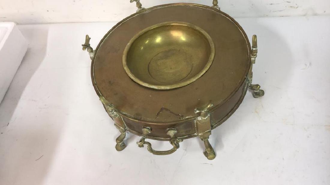 Vintage Brass Hookah from Kenya - 4