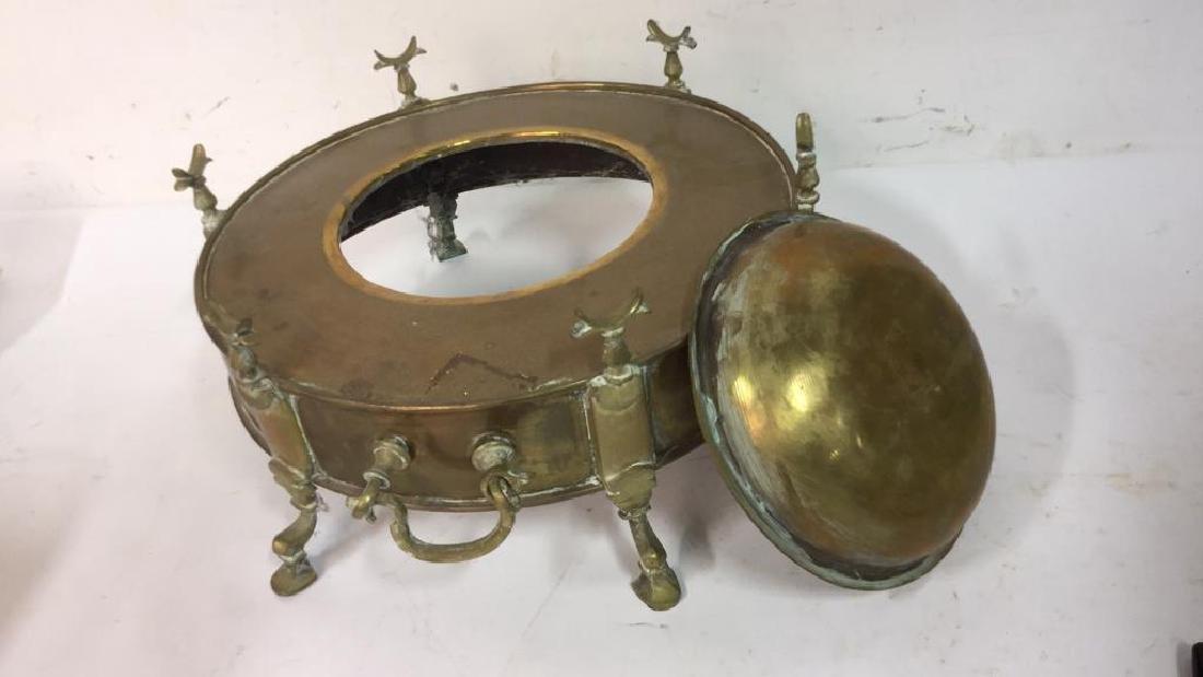 Vintage Brass Hookah from Kenya - 5