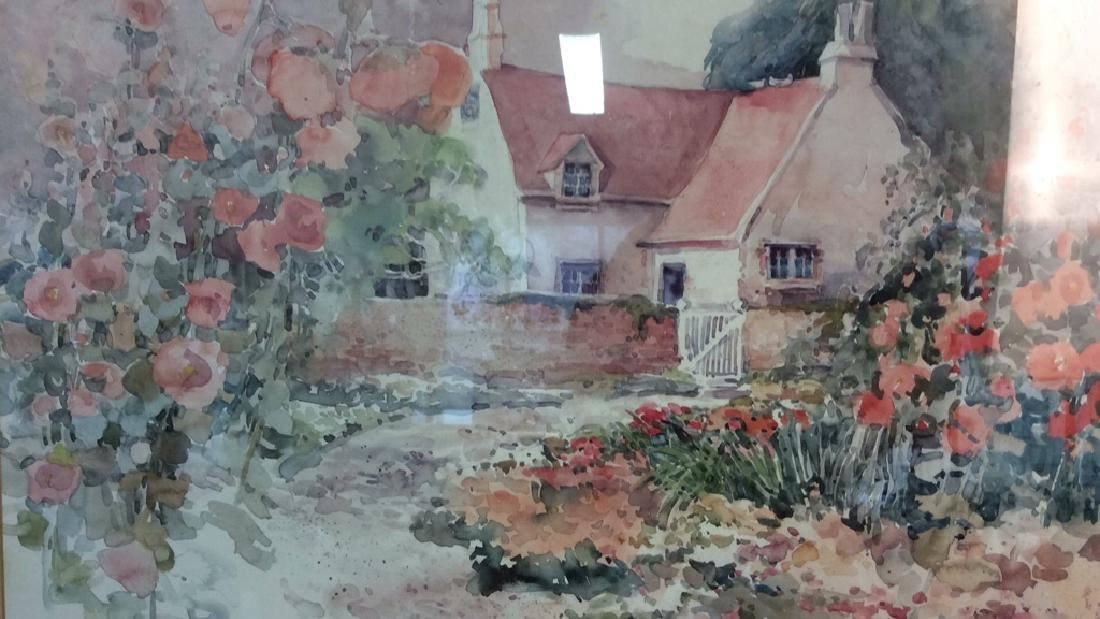 Art Print Daluna Darton Cottage Set in Forest - 2