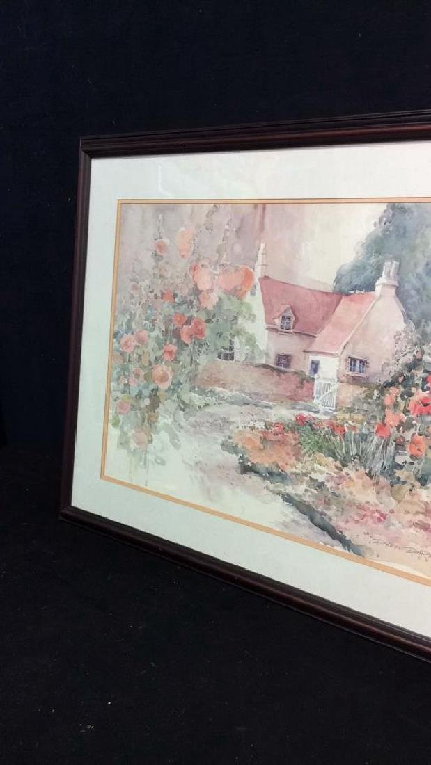 Art Print Daluna Darton Cottage Set in Forest - 3