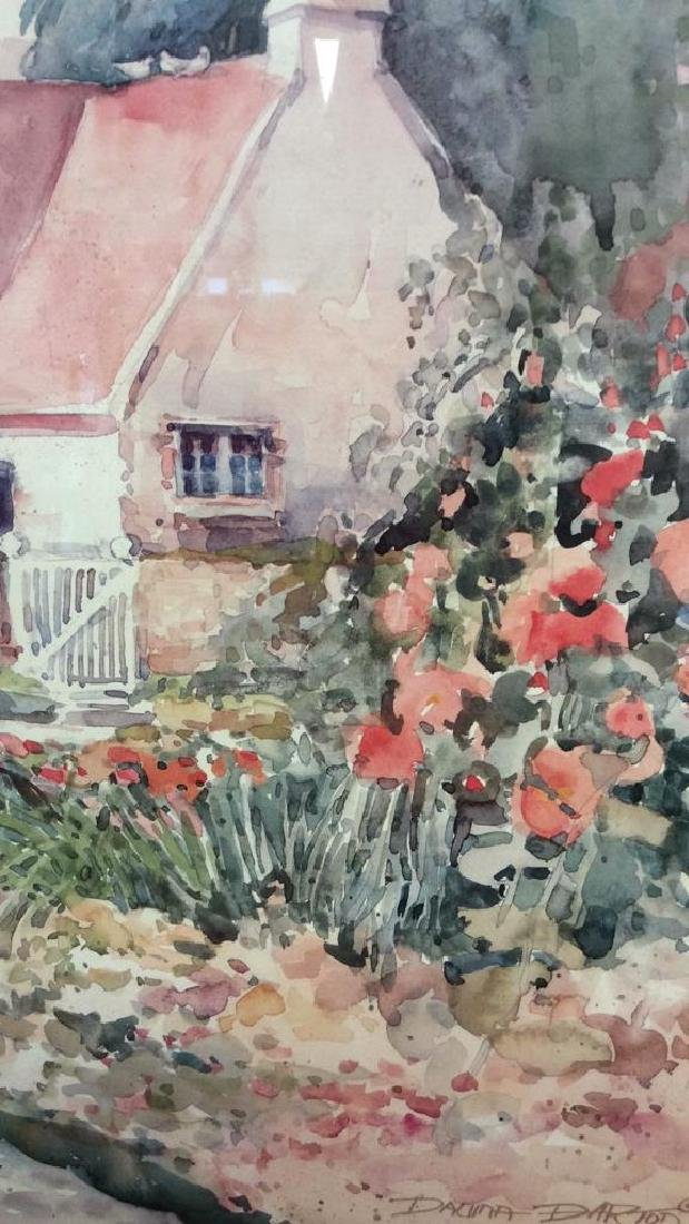 Art Print Daluna Darton Cottage Set in Forest - 4