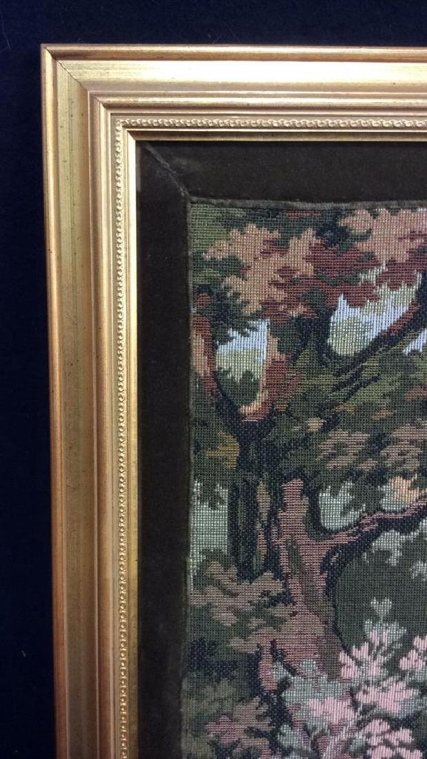 Embroidered Tapestry 18th Century Hunt - 6