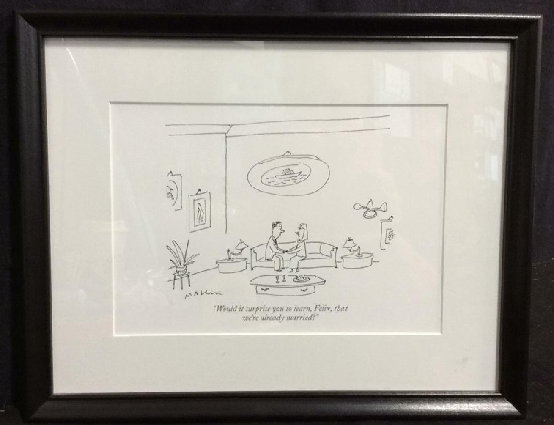 Michael Maslin Art Print New Yorker Cartoon