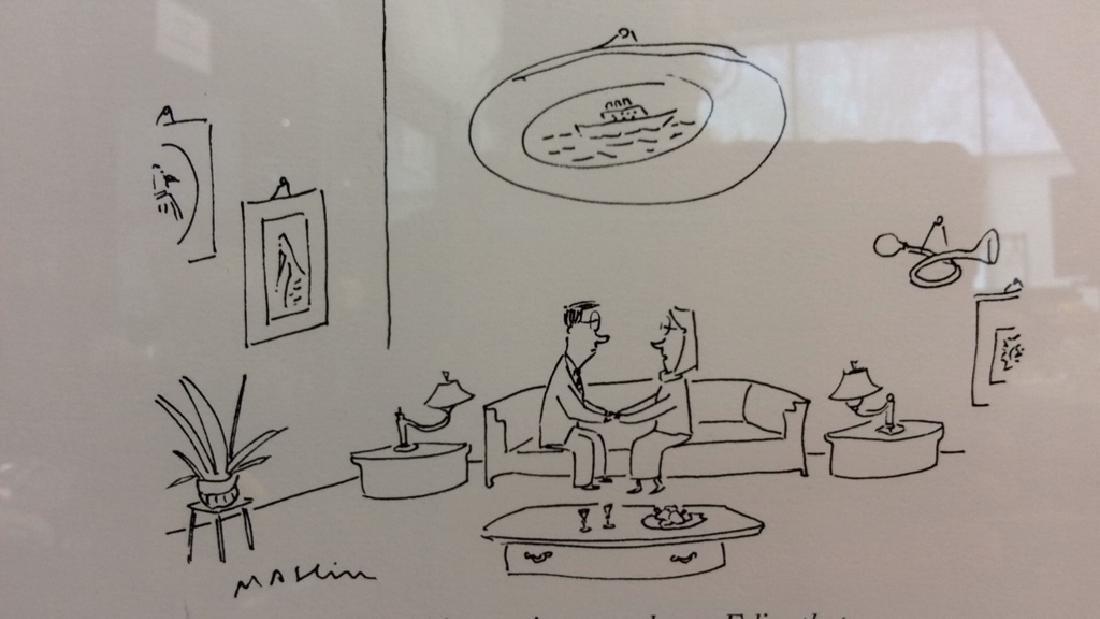 Michael Maslin Art Print New Yorker Cartoon - 2