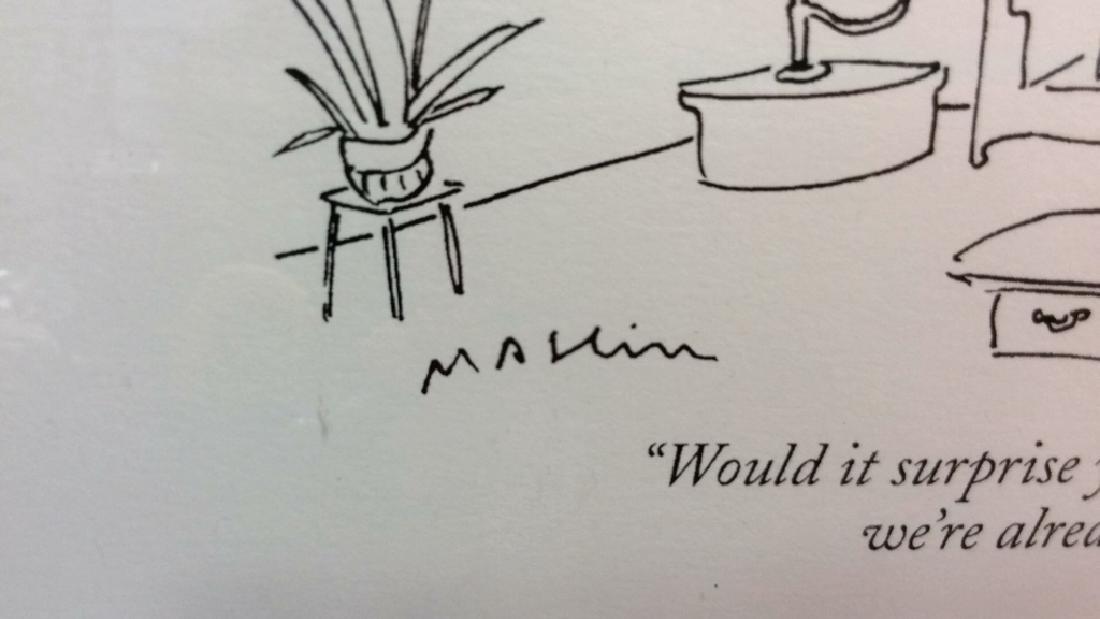 Michael Maslin Art Print New Yorker Cartoon - 3