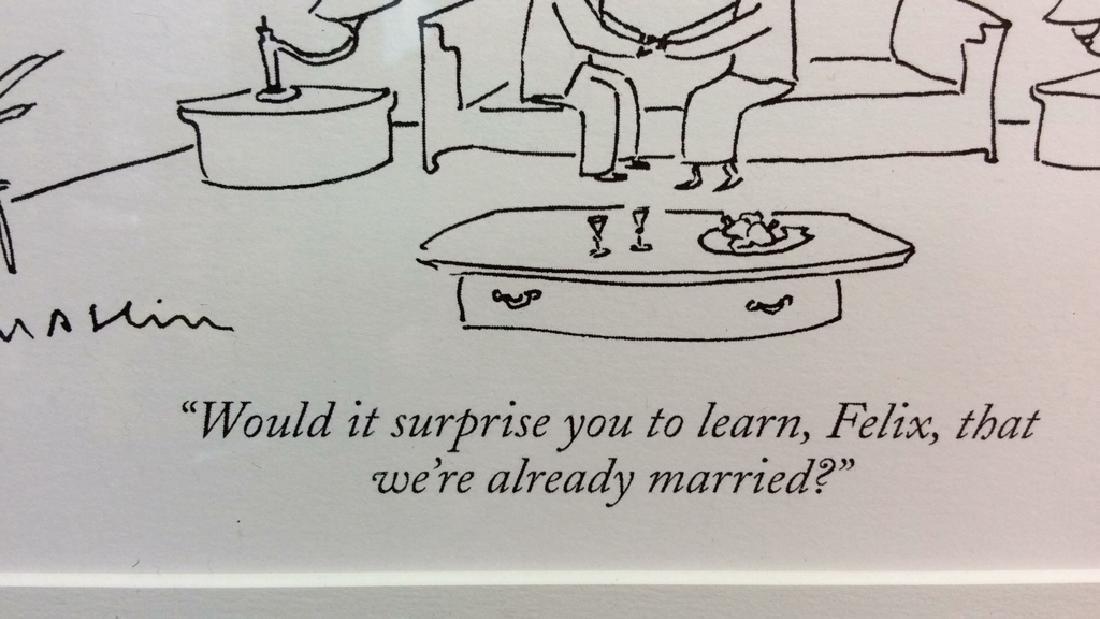 Michael Maslin Art Print New Yorker Cartoon - 4
