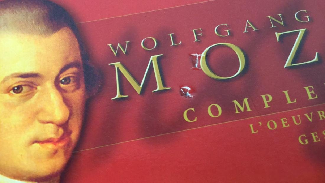 170 CD Set of Wolfgang Amadeus Mozart - 10