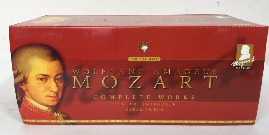 170 CD Set of Wolfgang Amadeus Mozart