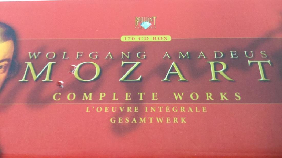 170 CD Set of Wolfgang Amadeus Mozart - 2