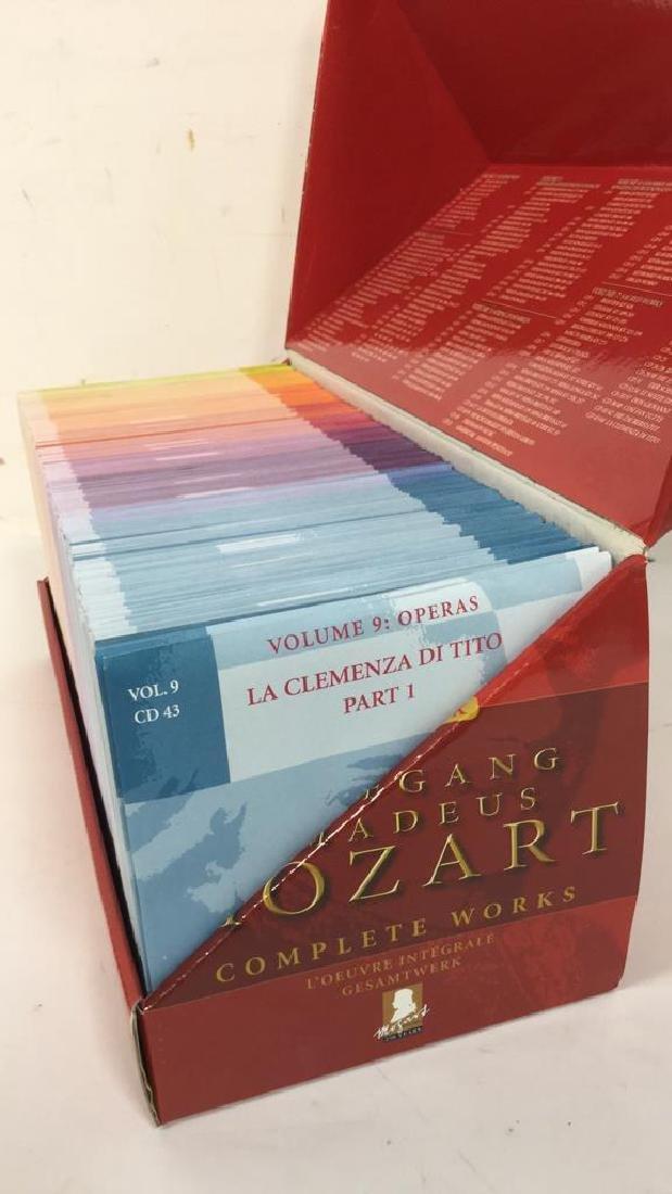 170 CD Set of Wolfgang Amadeus Mozart - 7