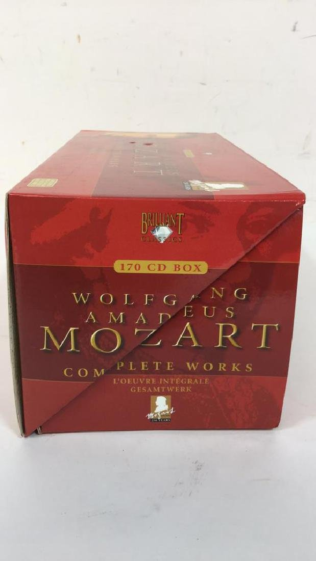 170 CD Set of Wolfgang Amadeus Mozart - 9