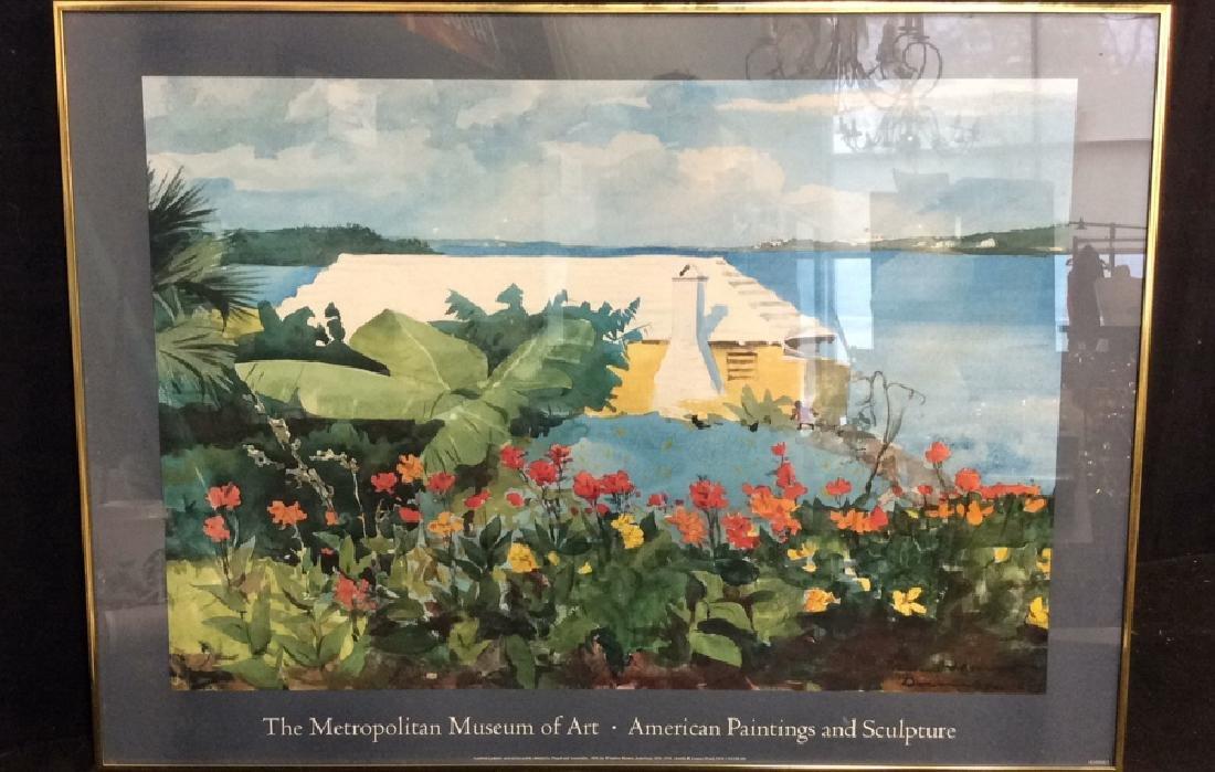 Art Poster Metropolitan Museum of Art