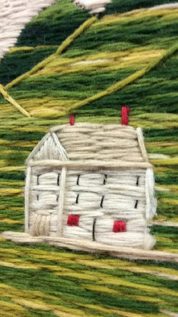 Embroidered Tapestry Art - 5
