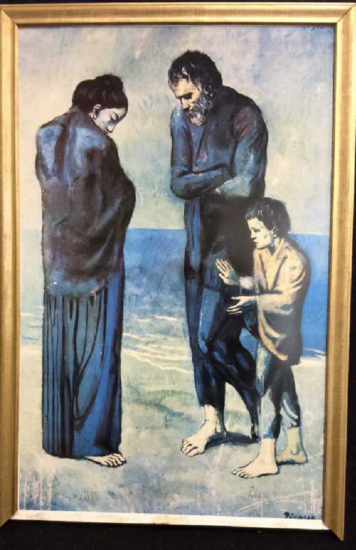 Art Print Picasso The Tragedy