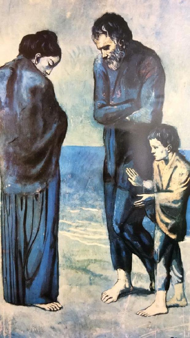 Art Print Picasso The Tragedy - 2