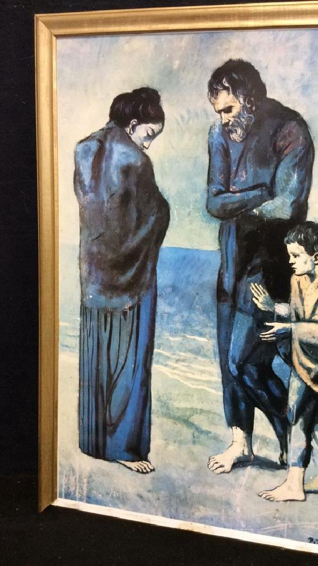 Art Print Picasso The Tragedy - 3