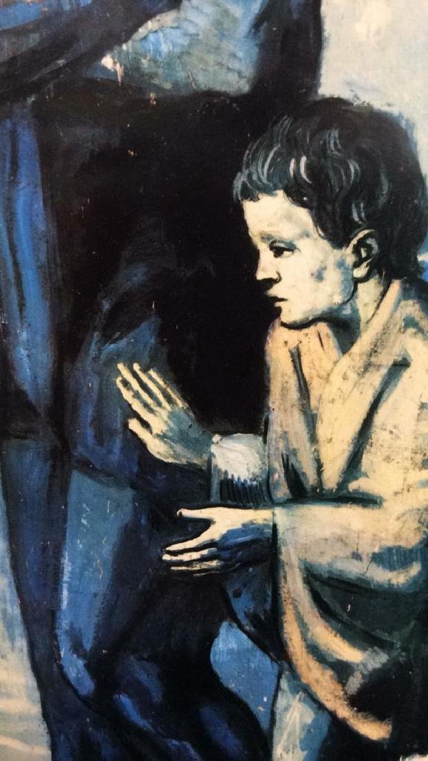 Art Print Picasso The Tragedy - 4