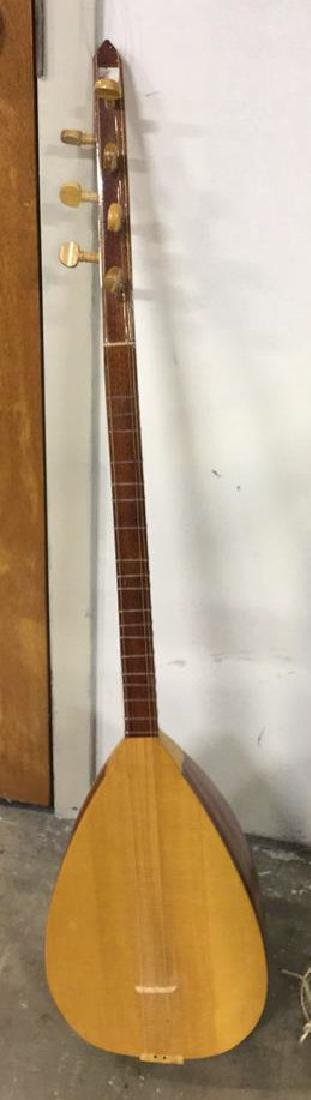 Wooden 7 String Baglama Saz Instrument