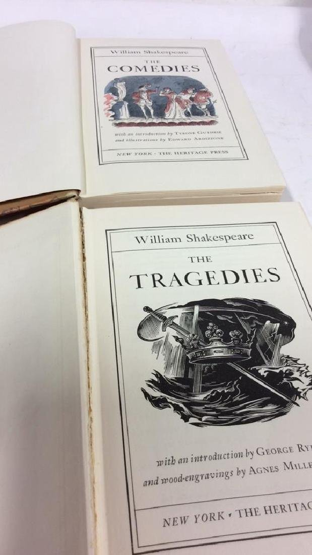 Lot  3 Works of William Shakespeare - 2