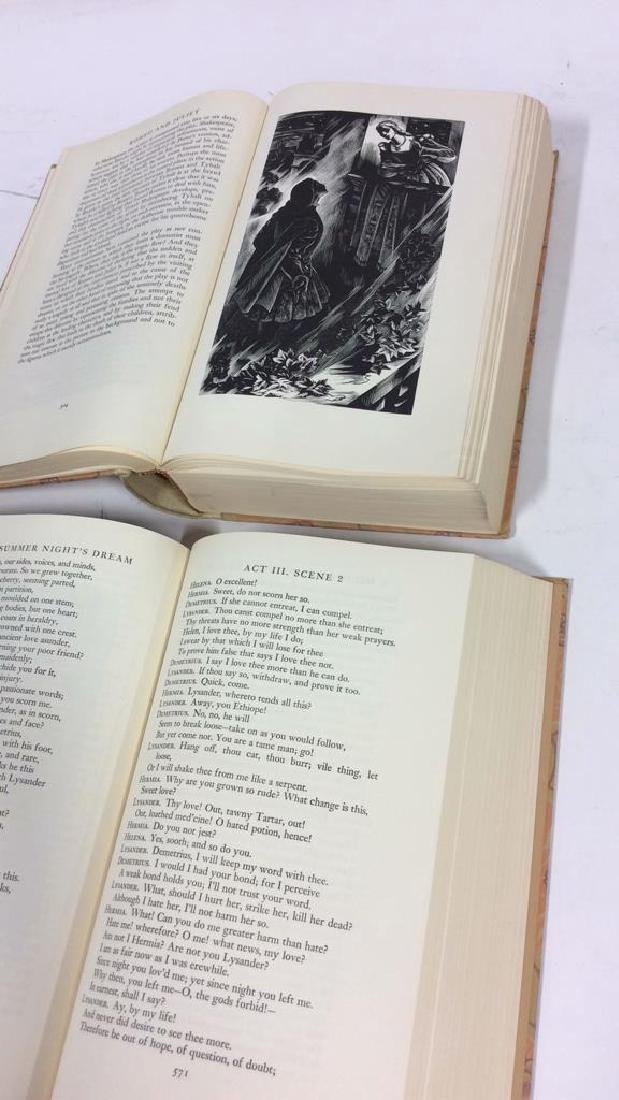 Lot  3 Works of William Shakespeare - 5