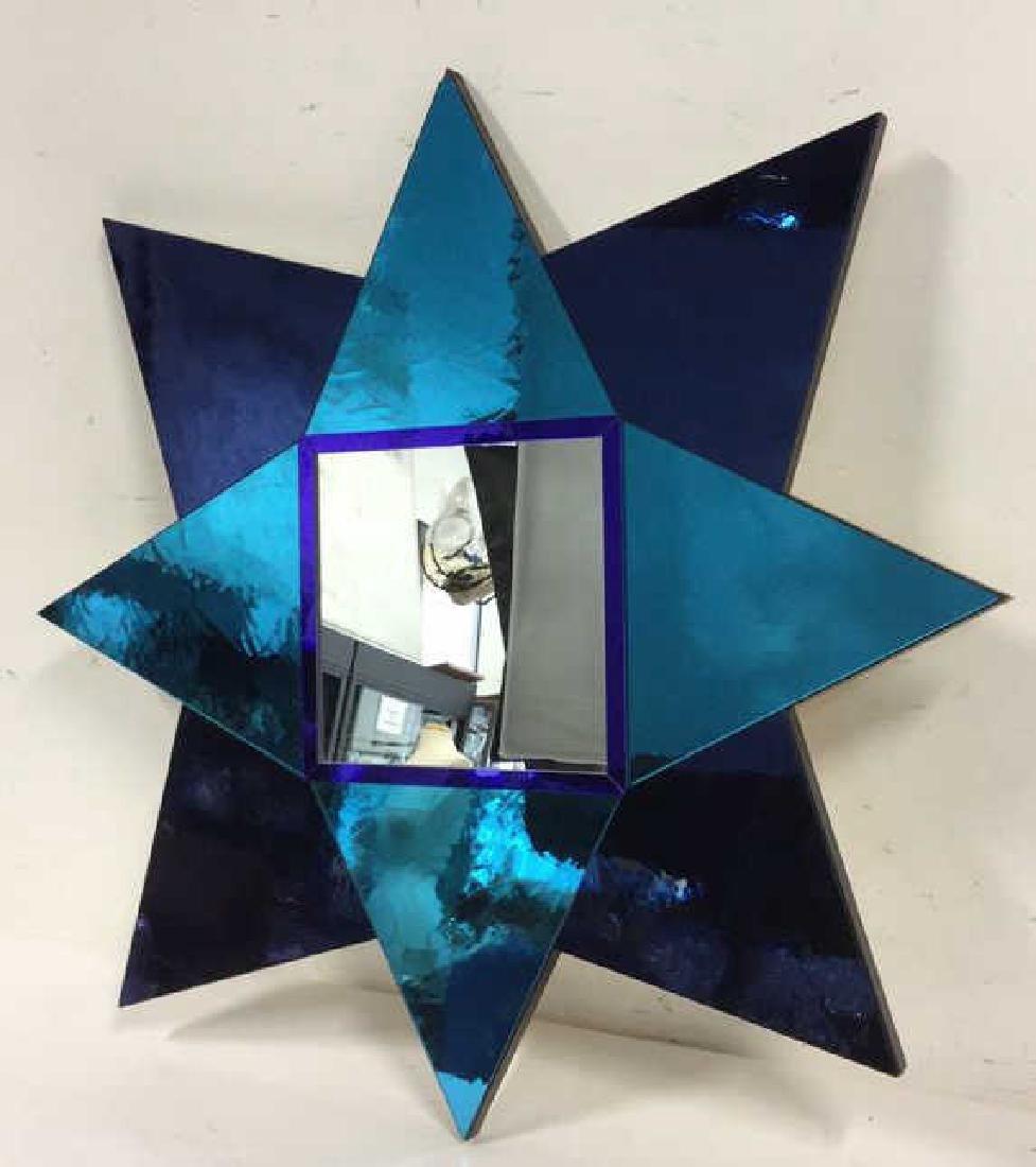 Hand Made Modern 8 Point Star Mirror