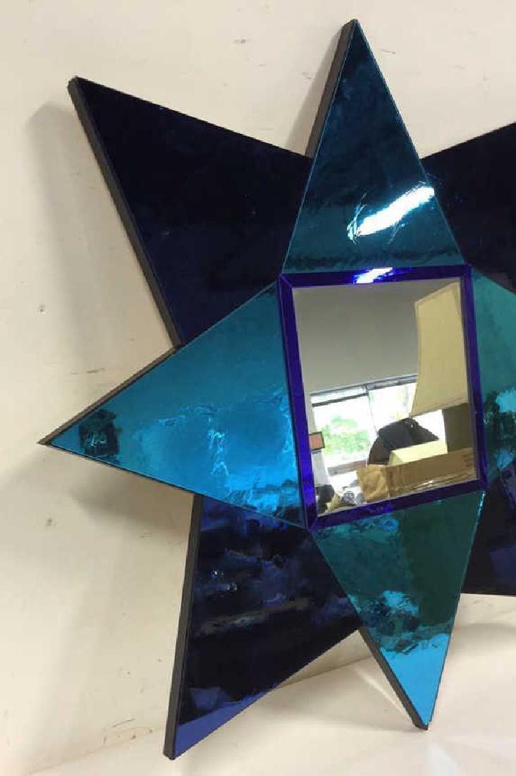 Hand Made Modern 8 Point Star Mirror - 9