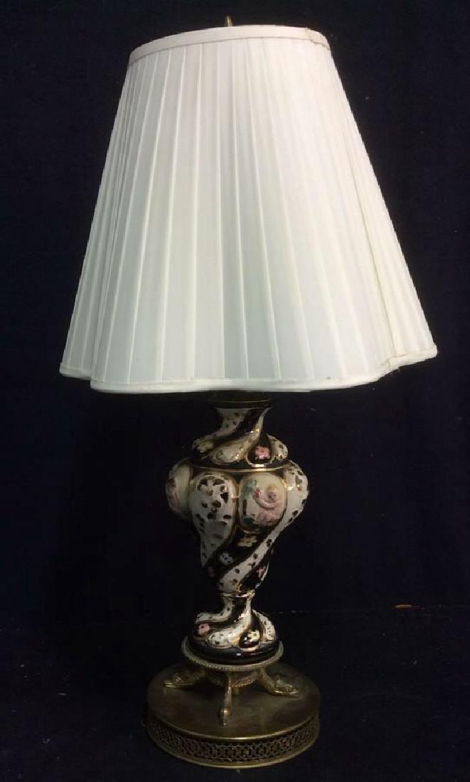 Ceramic Porcelain Hand Painted Lamp