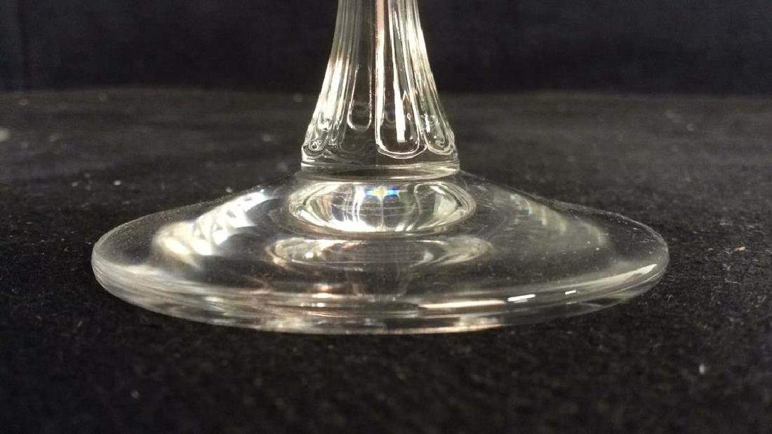 Lot 8 TOWLE Crystal Austrian Wine Glasses - 10