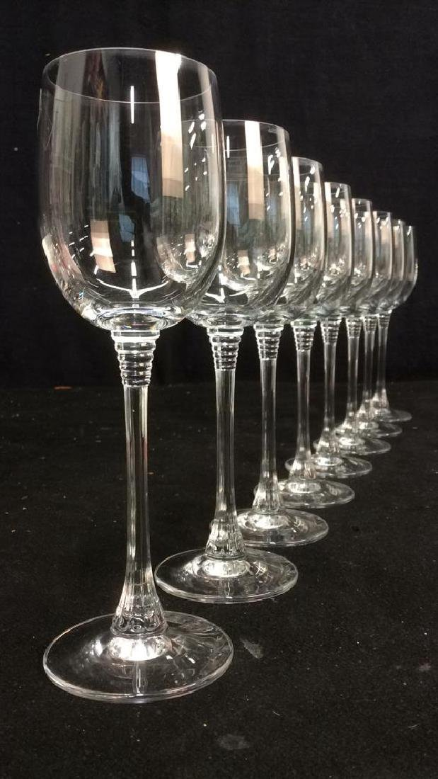 Lot 8 TOWLE Crystal Austrian Wine Glasses