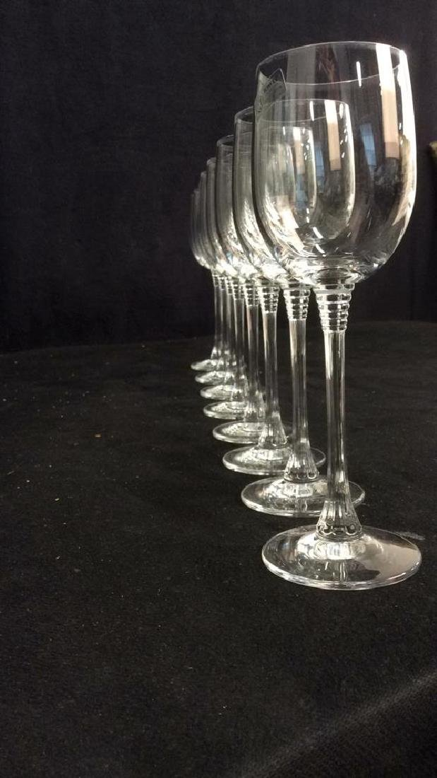 Lot 8 TOWLE Crystal Austrian Wine Glasses - 2