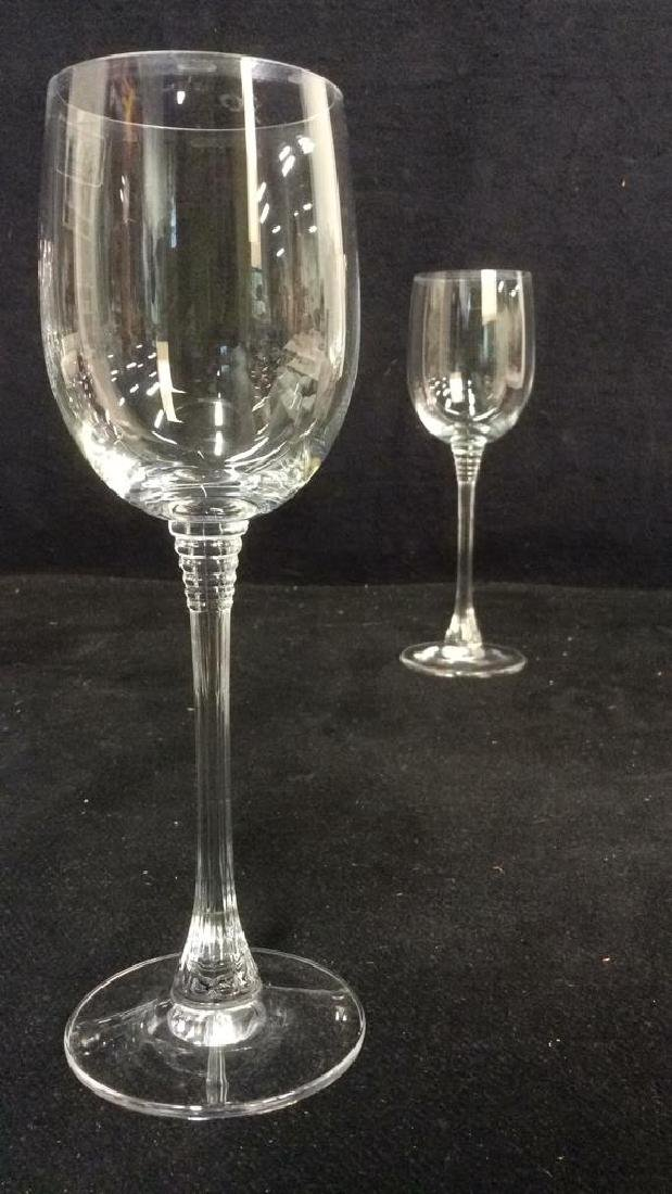 Lot 8 TOWLE Crystal Austrian Wine Glasses - 8