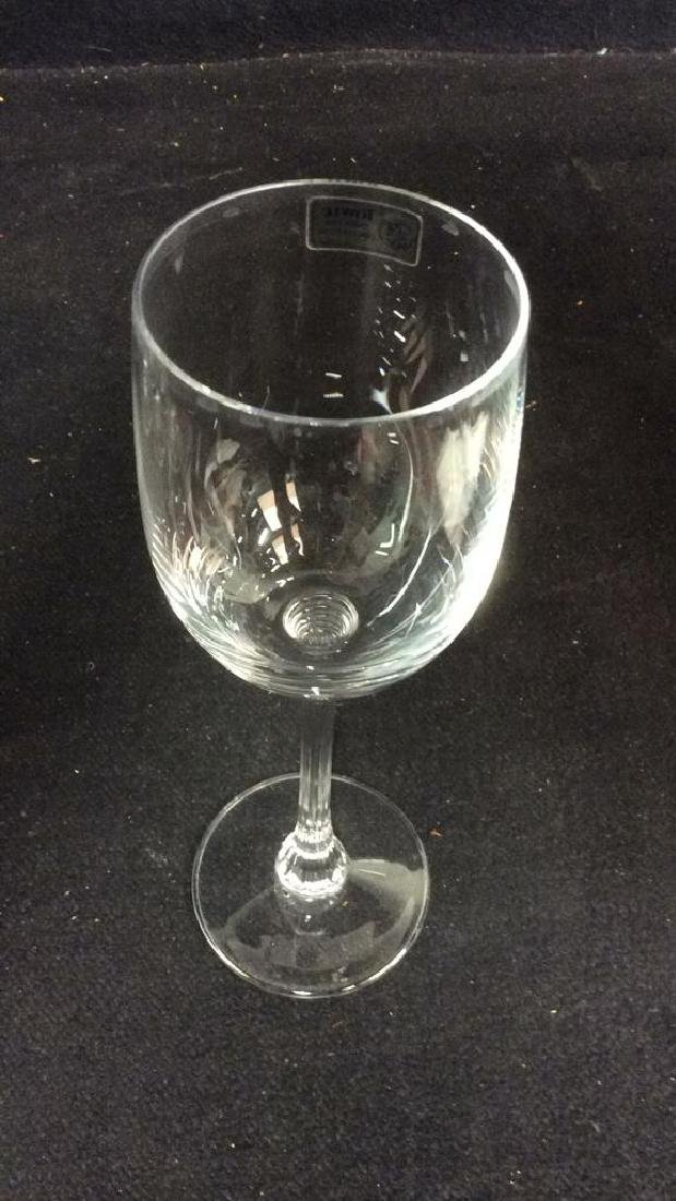 Lot 8 TOWLE Crystal Austrian Wine Glasses - 9