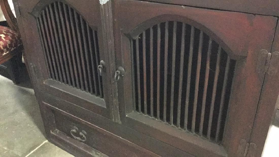 Vintage Mahogany Cabinet - 2