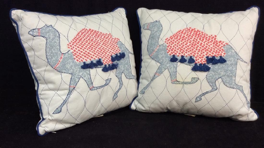 Lot 2 JOHN ROBSHAW Pillows