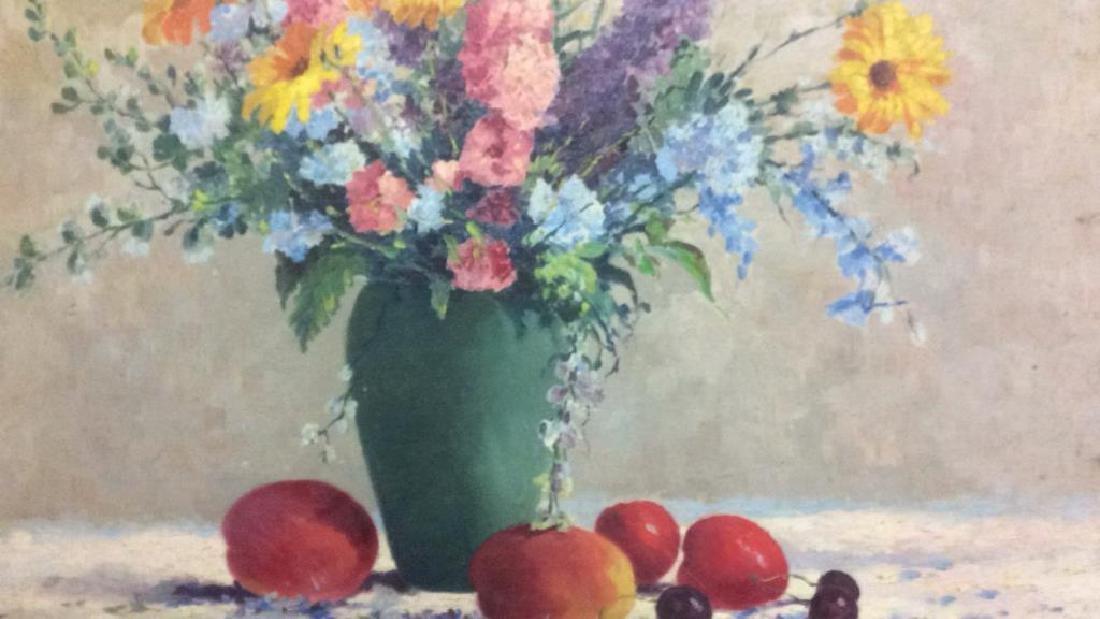 J L Gallagher '44 Still Life on Canvas - 5