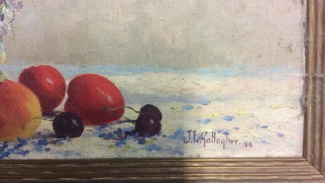J L Gallagher '44 Still Life on Canvas - 6