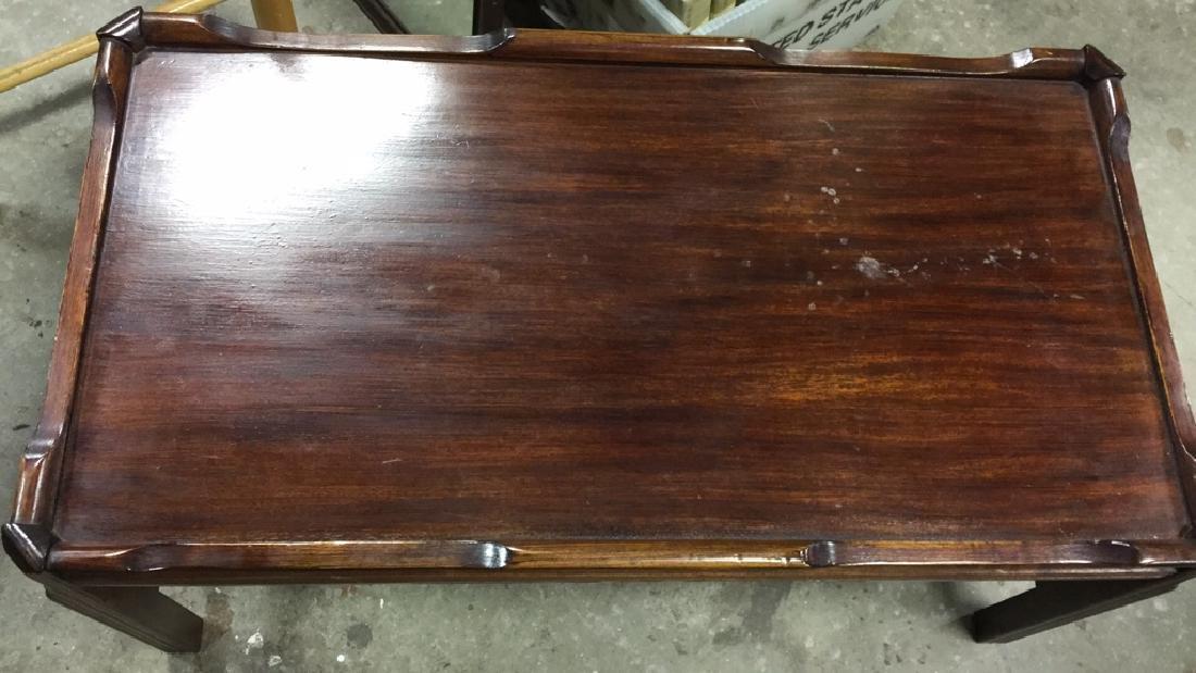 Vintage Wood Coffee Table - 2