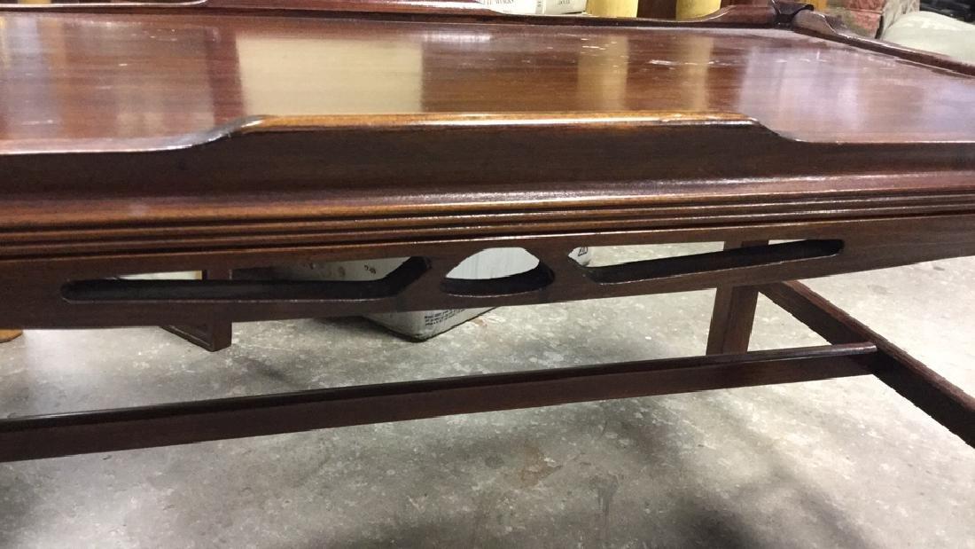 Vintage Wood Coffee Table - 3