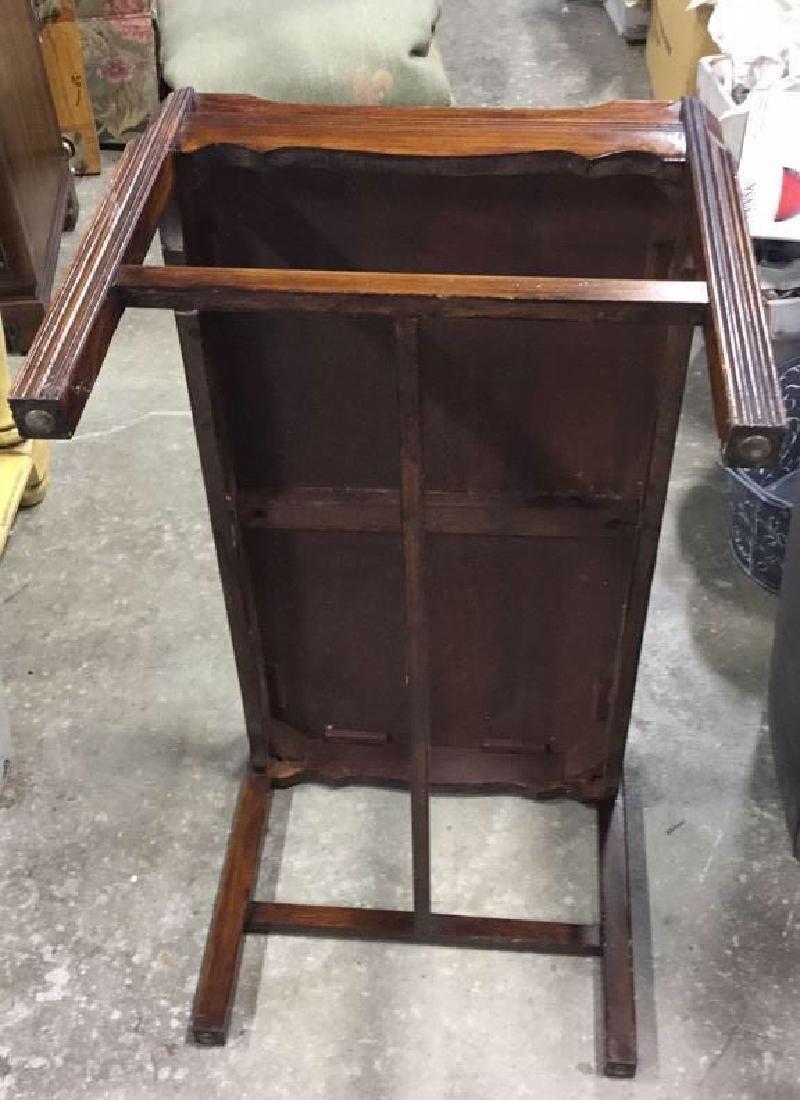 Vintage Wood Coffee Table - 5